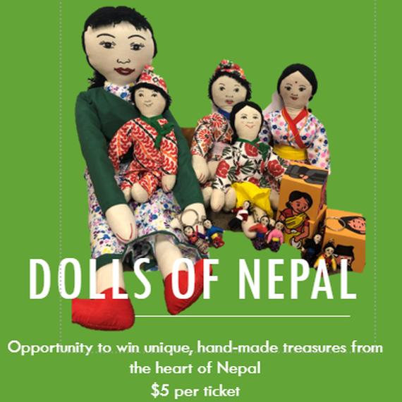 Dolls of Nepal - LVforUNICEF