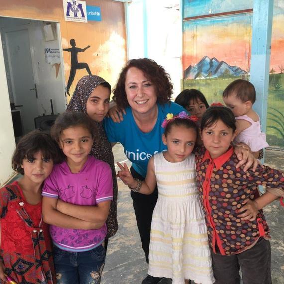 Helping Syrian Refugee Children in Zaatari camp